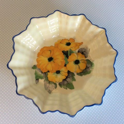 vintage china shelley dish