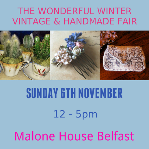 the wonderful winter vintage and handmade fair