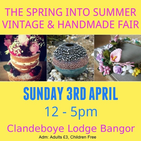 the spring into summer vintage and handmade fair