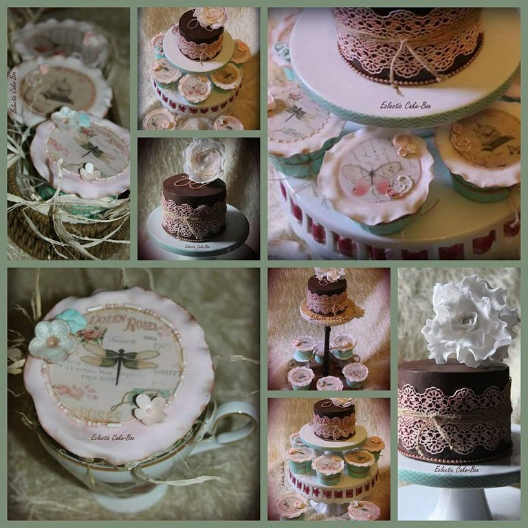 eclectic cake box