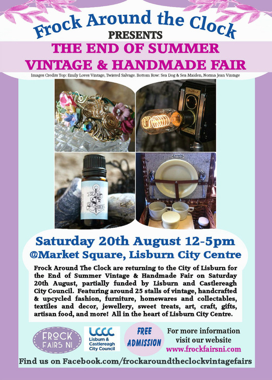 the end of summer vintage and handmade fair