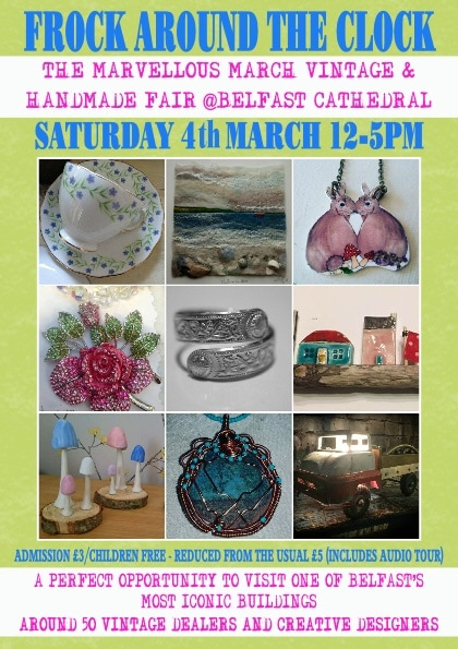 the marvellous march vintage and handmade fair