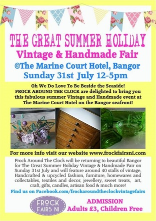 the great summer holiday vintage and handmade fair